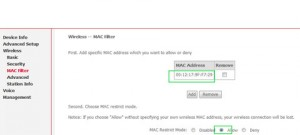 Meerdere Mac adressen toevoegen