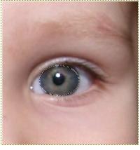 Kleuren ogen veranderen. Maak selectie
