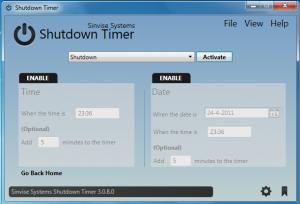 Shutdown-timer