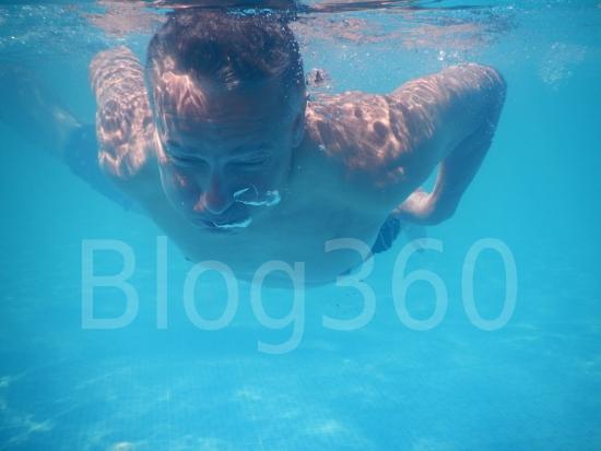 Foto onderwater